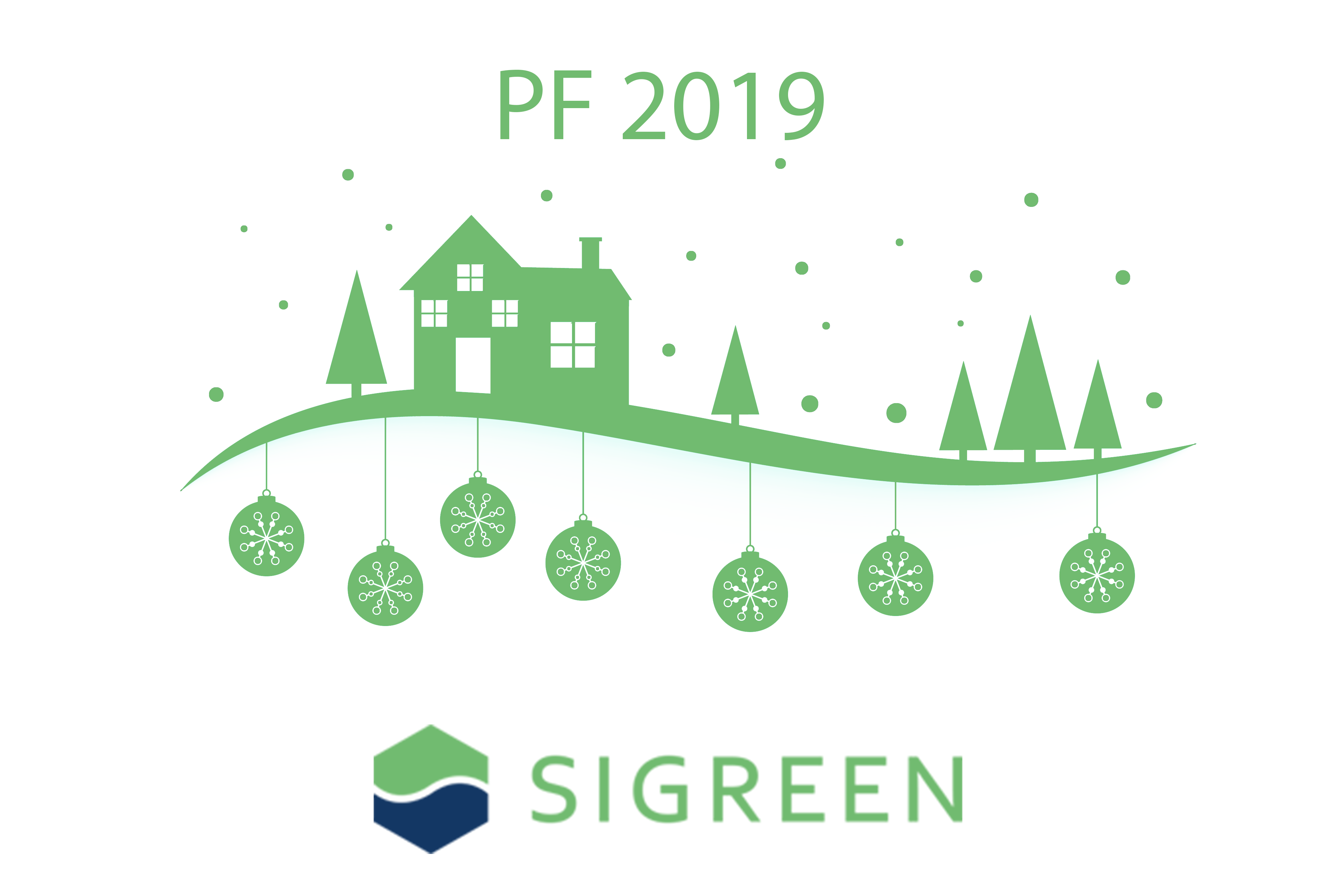 SIGREEN POUR FÉLICITER 2019, Designed by starline / Freepik